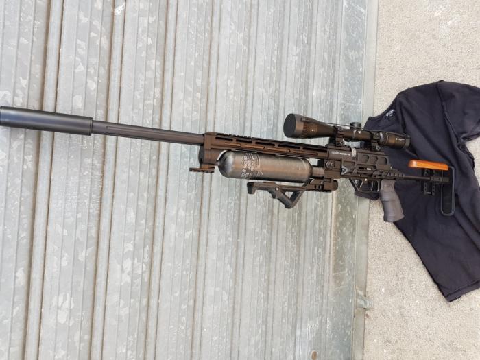 carabina pcp evanix x2