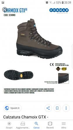 Chamoix gtx scarpe caccia