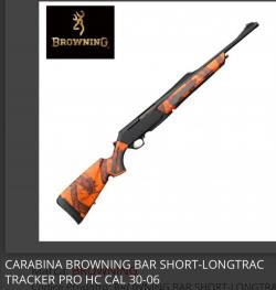Browning Bar e ottiche Eotech
