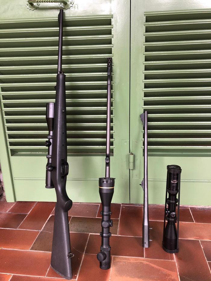 Fucile Blaser R93 con ottiche