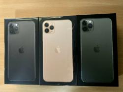Apple iPhone 11 Pro 64GB €580 iPhone 11 Pro Max 64GB €610 iPhone 11 64GB €480