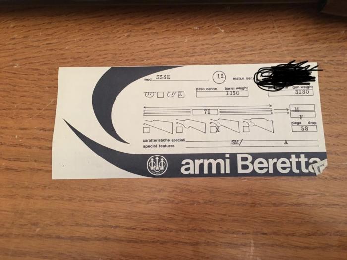 BERETTA S56E