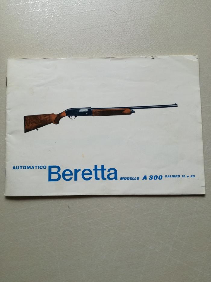 Manuale Beretta A300