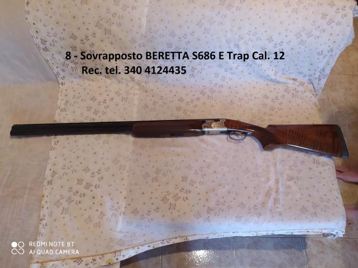 Fucile Beretta S686 E Trap