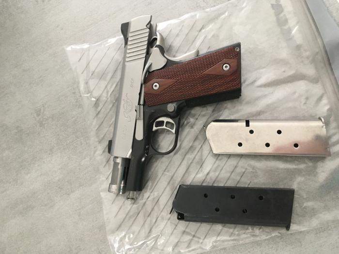 Cedo pistola Kimber Custom II cal.45ACP