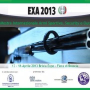 EXA 2013 - Mostra Internazionale Armi Sportive, Security e Outdoor