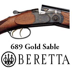 Caccia grossa con il fucile tipo express 689 GOLD SABLE della Beretta