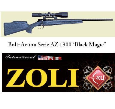 """Carabina Bolt-Action Serie AZ 1900 """"Black Magic"""": eleganza e precisione sono il suo biglietto da visita"""
