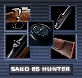 Carabina Sako 85 Hunter calibro .308 Winchester: progettata per convincere