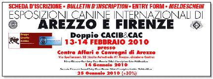 esposizione internazionale canina arezzo firenze 13 e 14 febraio