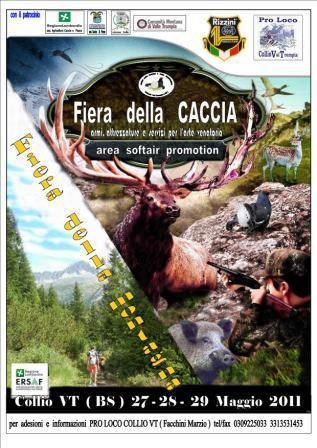 Fiera della caccia, armi attrezzature e servizi per l'arte venatoria dal 27 al 29 maggio 2011