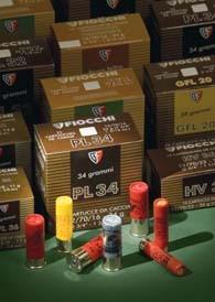 Cartucce Linea Traditional 34 Disp e Linea Magnum Ultramagnum della Fiocchi : concepite per le grandi distanze