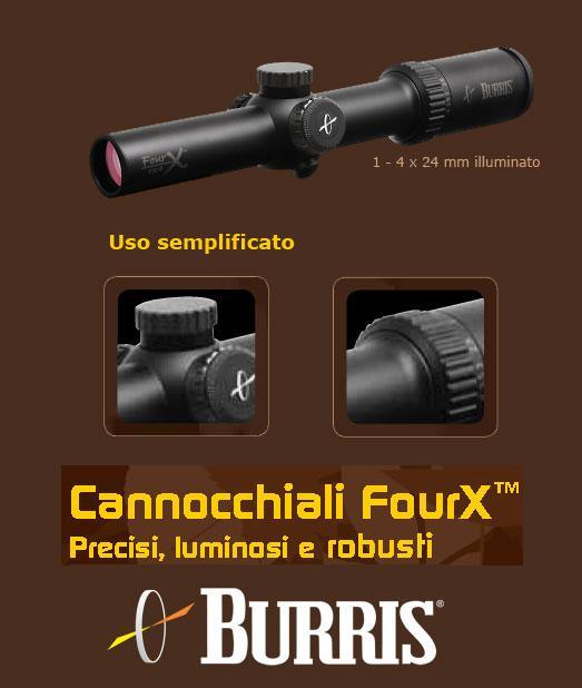 Cannocchiale FourX della Burris : l'illuminazione del vostro bersaglio