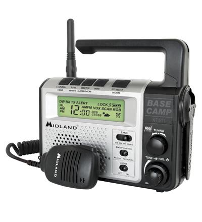 Stazione radio da campo Midland XT511: comunicazione costante
