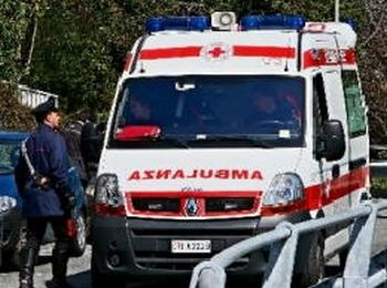 Ambulanza Croce Rossa - Soccorsi - Incidente