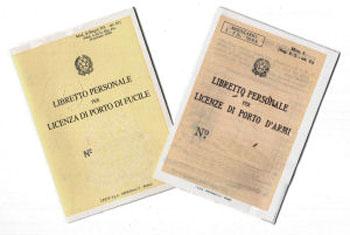 Licenza Porto d'Armi - Normativa