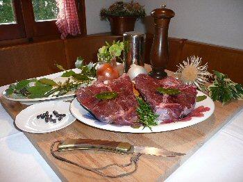 Caccia in Cucina - Carne di Selvaggina