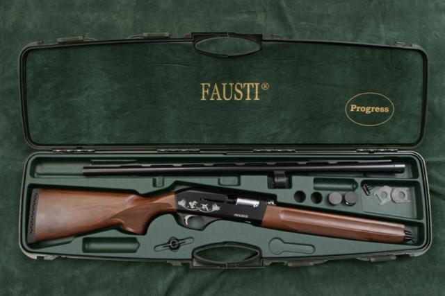 Fausti progress il nuovo fucile semiautomatico della casa for Costo della costruzione del fucile da caccia