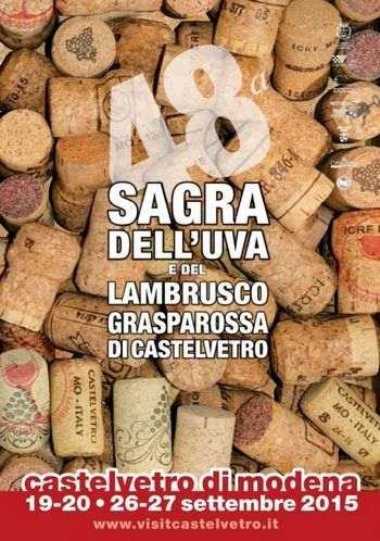 48a Sagra del Lambrusco Grasparossa di Castelvetro Modena