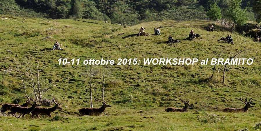 Workshop Cervo al bramito di Riccardo Camusso