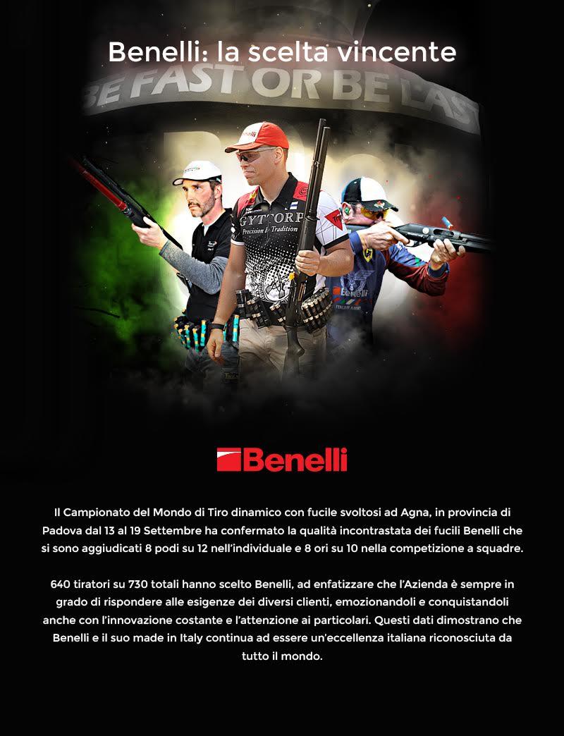 Fucili da tiro Benelli Armi