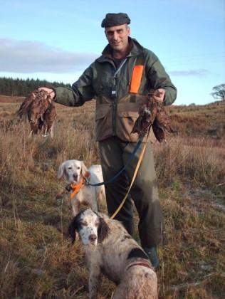 caccia alla beccaccia in scozia