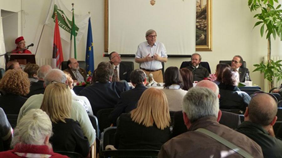 Conferenza stampa Vittorio Sgarbi