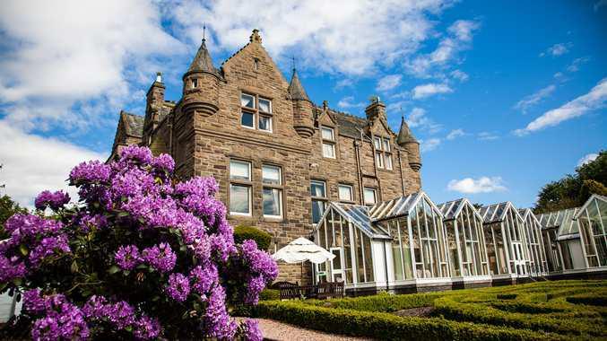 Scotland hotel exterior hilton