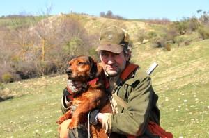 Conduttori di cane limiere