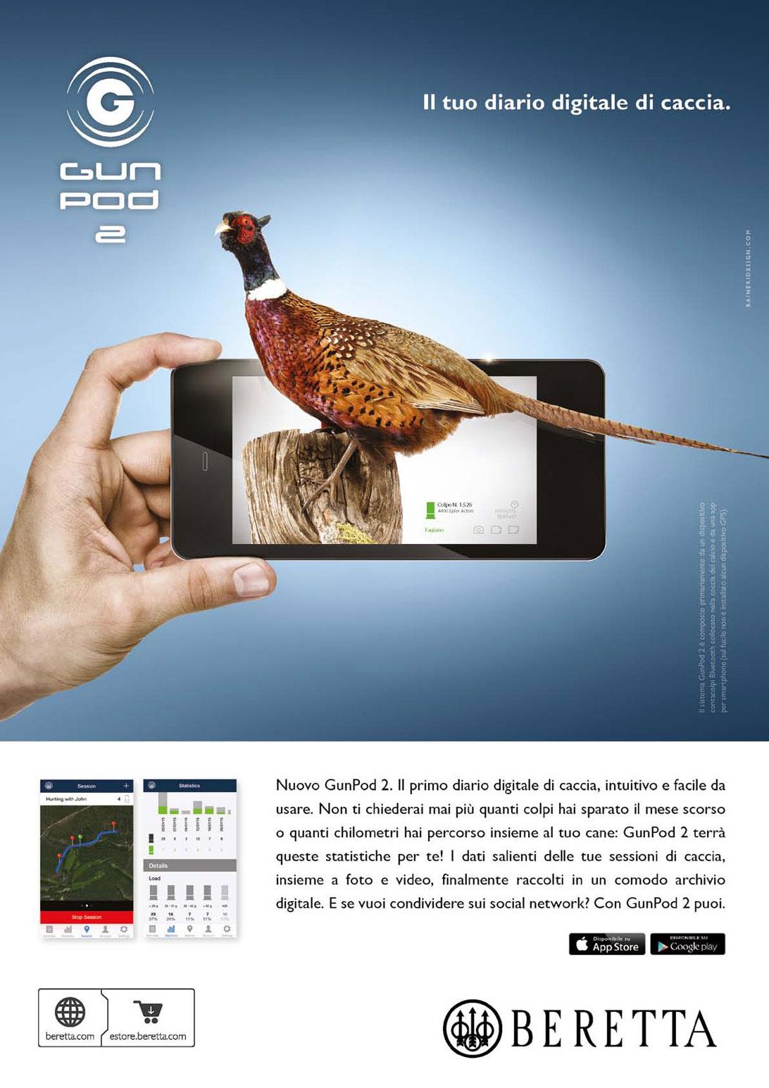 Beretta Gun Pod 2 App Mobile smartphone