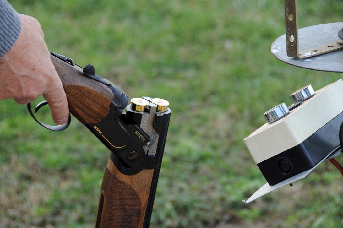 Il Beretta 692 Black pronto in pedana
