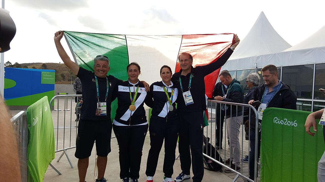 Andrea Benelli-Bacosi-Cainero-Presidente-Luciano Rossi