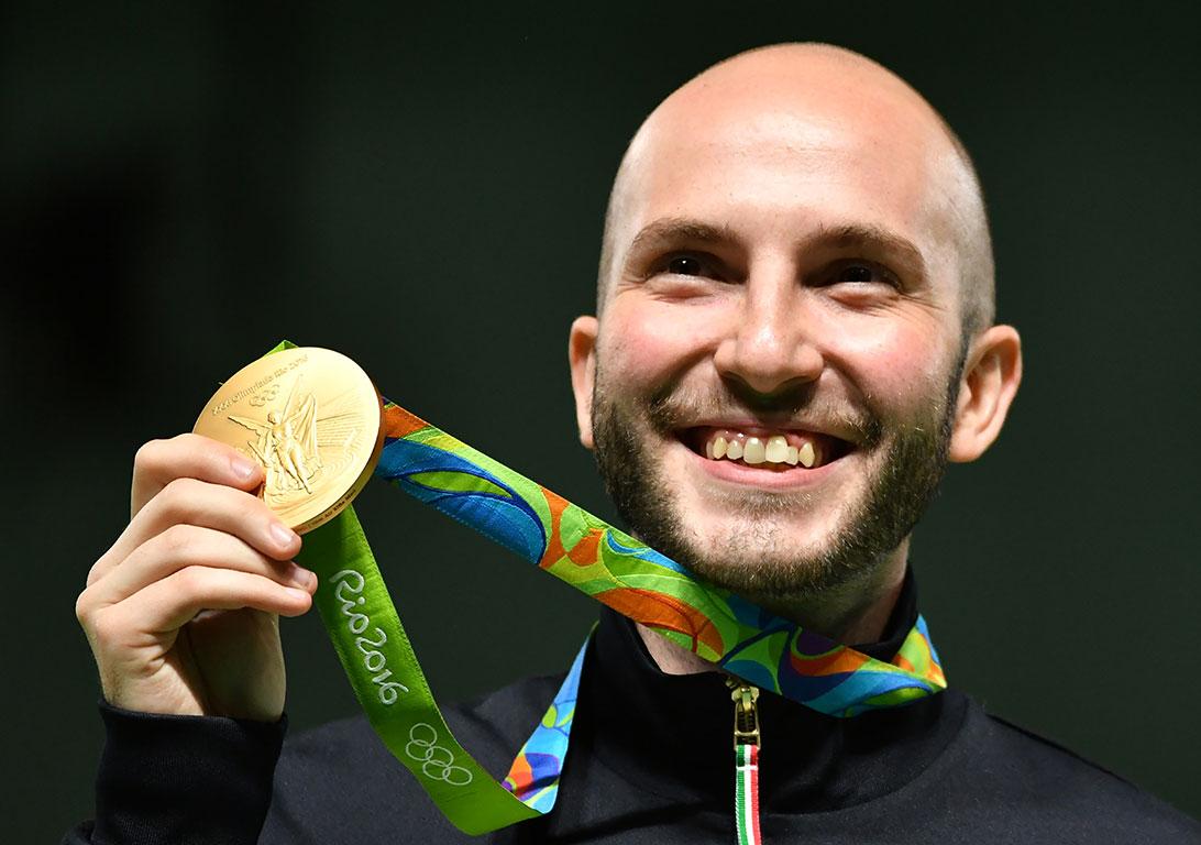 Rio2016: Tiro a segno. Campriani oro carabina 10 mt