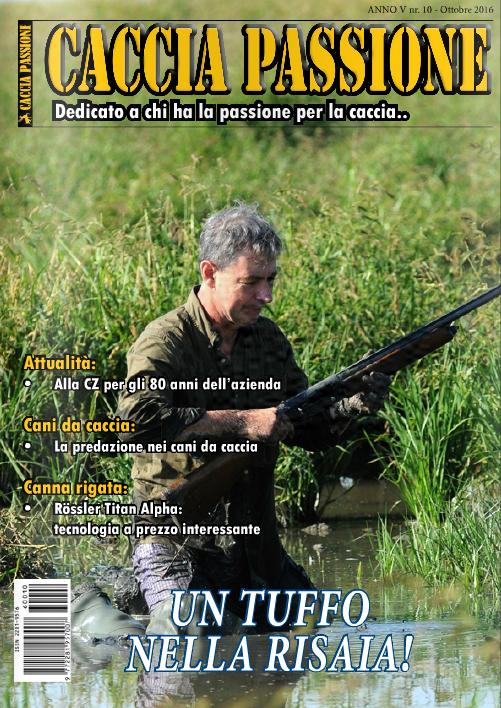caccia passione ottobre 2016