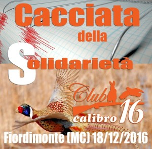 Cacciata del Club Calibro 16
