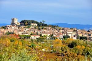 Sarteano, tra la popolosa Valdichiana e l'incontaminata Val d'Orcia