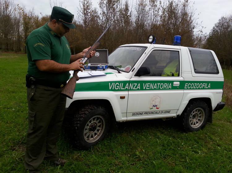 Guardia Venatoria - Controlli (Foto: UdineToday)