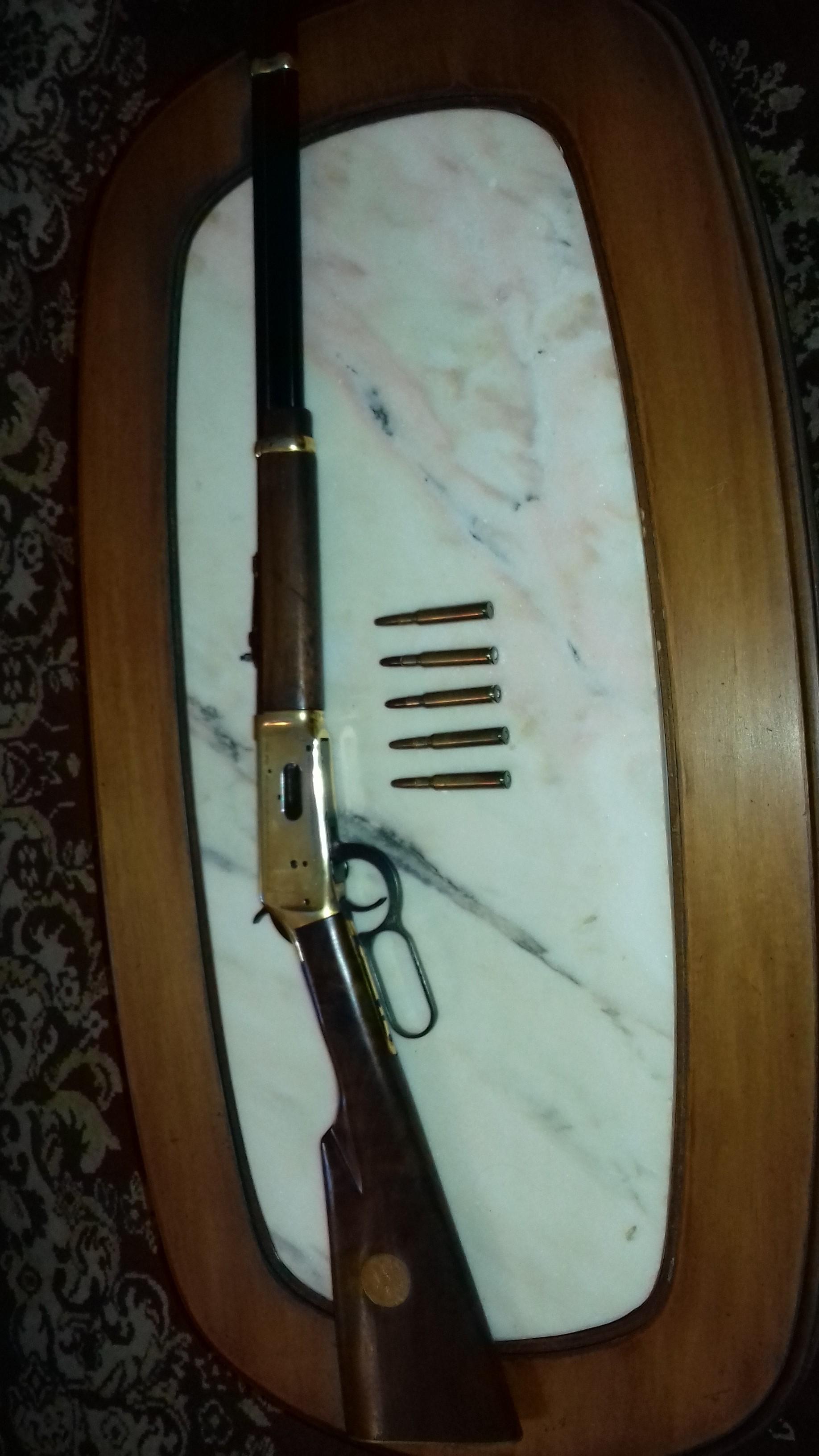 Vendo carabina Winchester