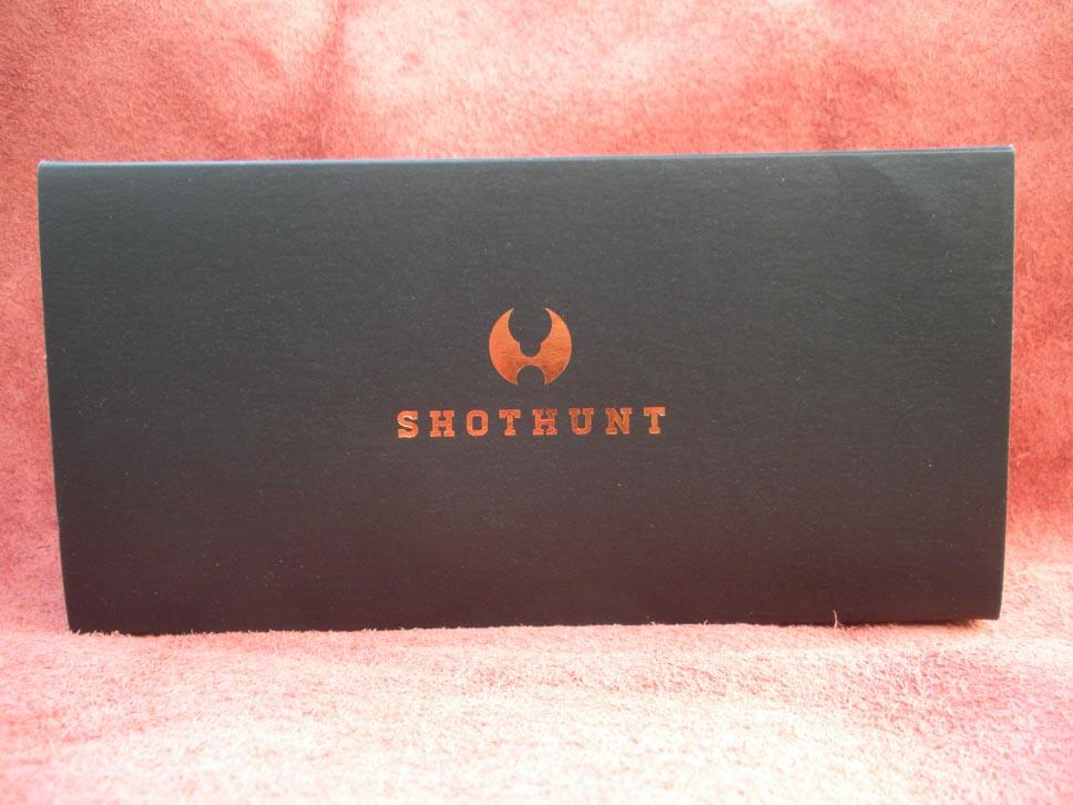 Shothunt - La confezione così come viene proposta al pubblico