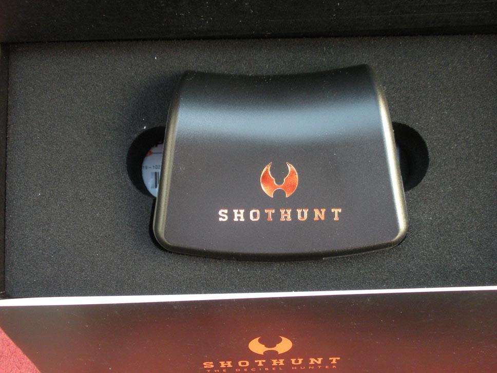 Shothunt - Il contenitore tascabile della coppia di auricolari, molto pratico quando si viaggia
