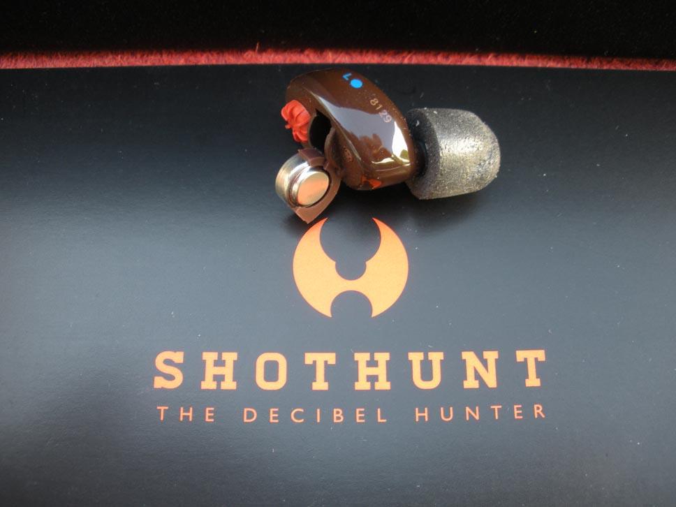 tappi auricolari Shothunt