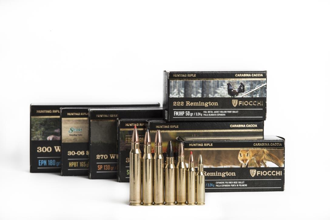 La gamma delle nuove munizioni Fiocchi