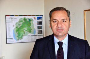 Il Dott. Domenico Pappaterra, presidente del Parco Nazionale del Pollino