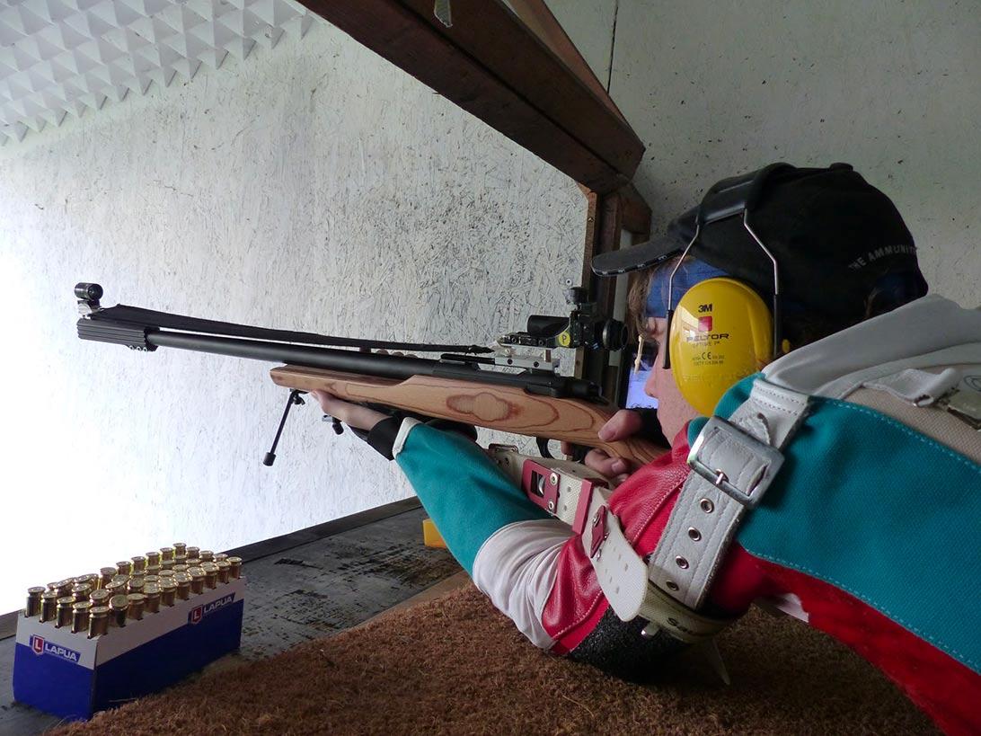 Sabatti ISSF standard rifle 308 W MRR