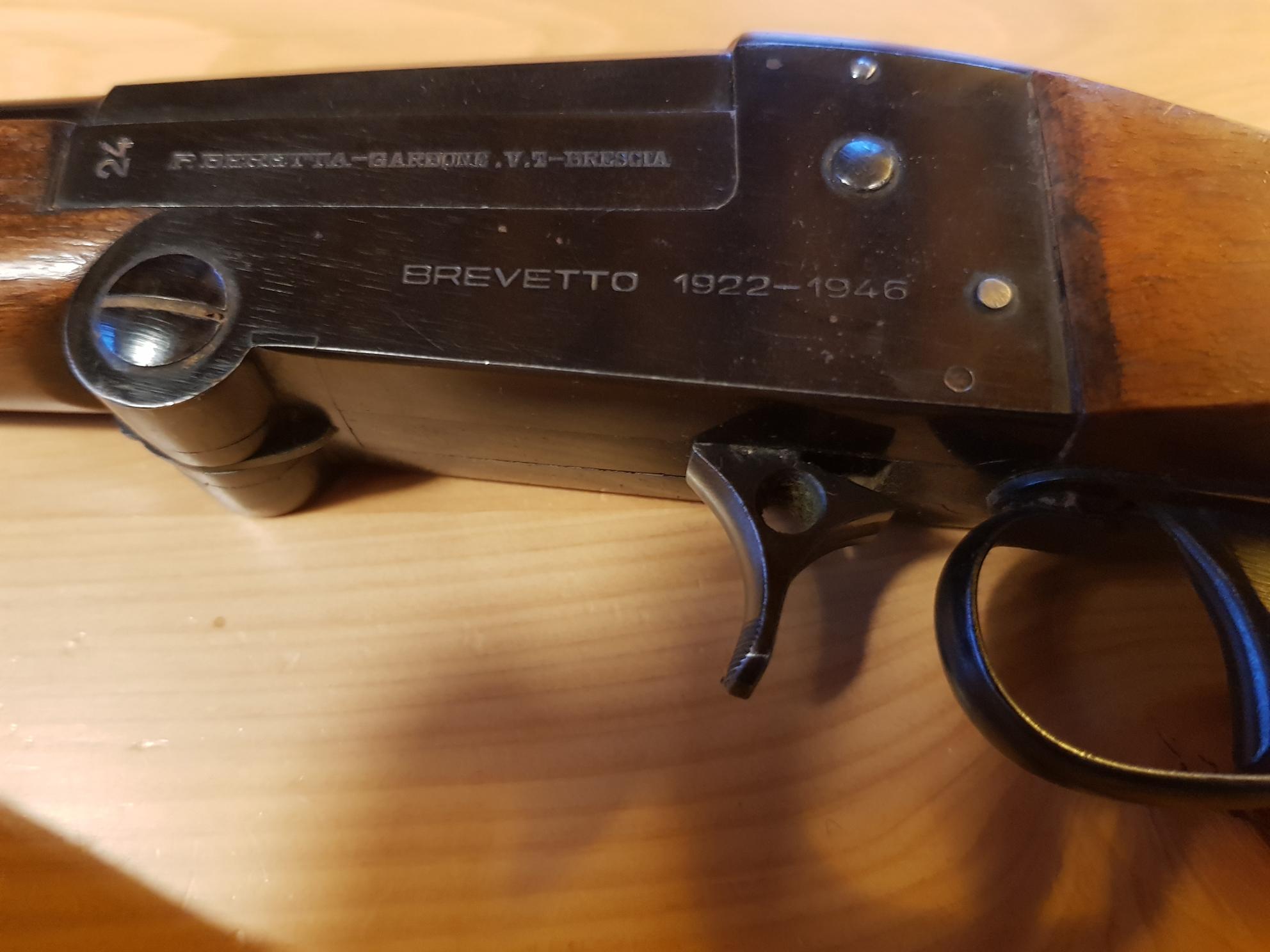 Fucile storico Beretta cal. 24