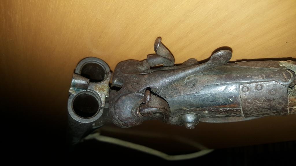 Fucili da caccia vecchi