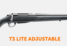 Tikka T3 Lite Adjustable