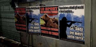 Animalisti contro i cacciatori
