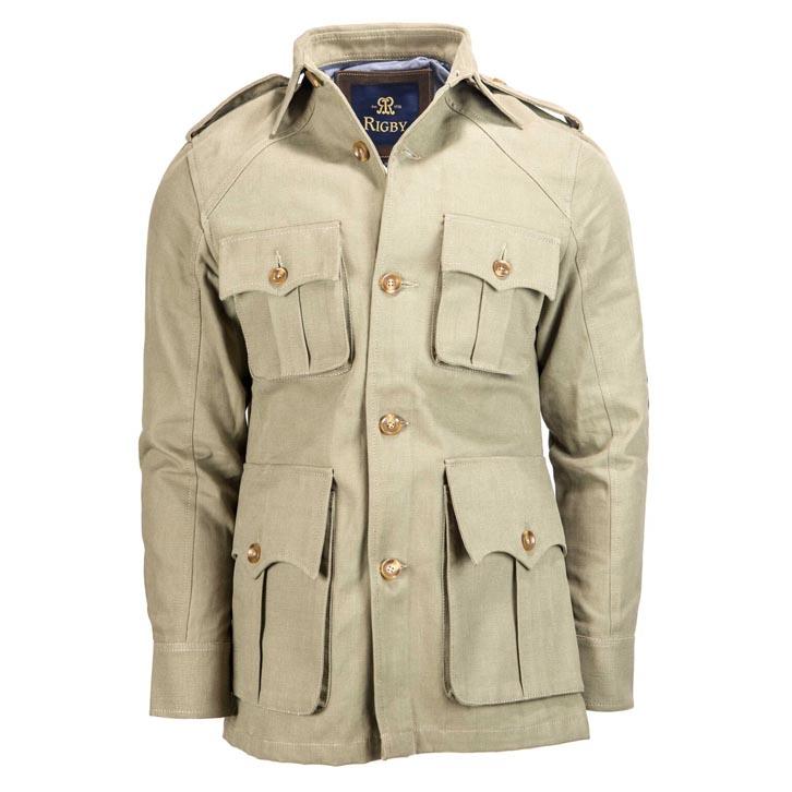La giacca da caccia Rigby Safari Jacket