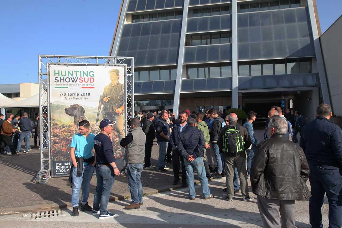 L'Hunting Show Sud di Marcianise